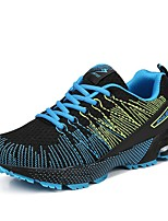 Zapatos Running Tul Negro / Naranja Hombre