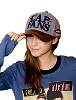 Unisex Spring Letters Printed Embroidered Baseball Cap Leisure Hat For Men And Women