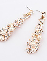Jewelry 1 pair Fashionable White Alloy Wedding / Party / Daily / Casual