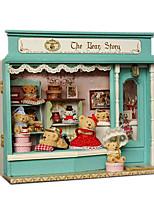Chi Fun House Handmade Hut Shop Smart Model Series Bear Fairy Tale House