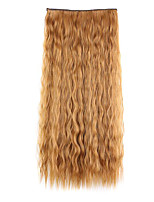 Light Brown  Length 60CM Synthetic A Chip Ringlet Europe and The United States Foreign Trade(Color 30J)