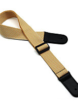 Straps Guitar / Acoustic Bass Musical Instrument Accessories Leather Green / Silver / Bronze