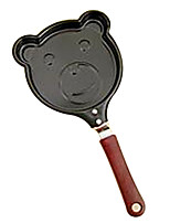 2pcs Bear Mini Frying Pan for Egg Kitchen Tool