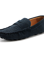 Men's Shoes Wedding / Office & Career / Party & Evening / Casual Suede Loafers Black / Blue / Yellow / Gray