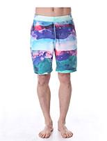 Pantalones de yoga Prendas de abajo Transpirable / Secado rápido / Capilaridad Cintura Media Eslático Ropa deportivaBlanco / Verde /