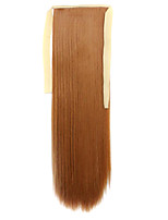 Wig Brown 60CM High-Temperature Wire Strap Style Pony Tail Straight Hair Wig Colour 27S