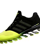 Zapatos de Hombre-Sneakers a la Moda-Casual-Semicuero-Negro / Azul
