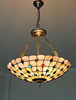 Max 60W Luci Pendenti ,  Stile Tiffany Altro caratteristica for Stile Mini MetalloSalotto / Camera da letto / Sala da pranzo / Cucina /