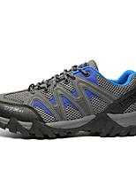 Sapatos Aventura Masculino Azul / Marrom / Verde Couro / Tule