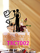 Cake Toppers With Love Heart