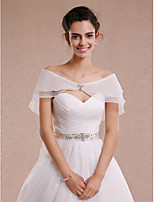 Wedding / Party/Evening Tulle Capelets Sleeveless Women's Wrap