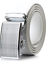 Unisex Calfskin Waist Belt,Vintage / Cute / Party / Work / Casual Alloy / Leather  PZD4061K09