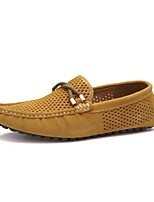 Men's Shoes Wedding / Office & Career / Party & Evening / Dress / Casual Suede Loafers Blue / Yellow / Gray / Orange