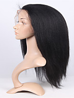 EVAWIGS Brazilian virgin hair lace front wig heavy density kinky straight lace wig for fashion black women