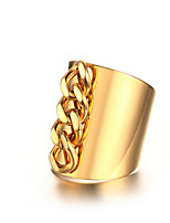 Creative Chain Stainless Steel Ring