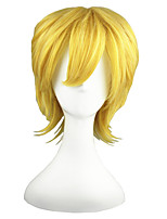 Kingdom Hearts-Ventus Gold Anime 14inch Cosplay Wig CS-010A