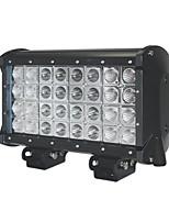1pcs de la remorque conduit barre lumineuse 9 '' 160w CREE LED barre lumineuse quatre lignes LED Light s'appliquent pour les locomotives