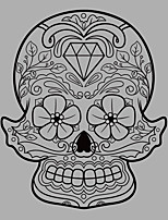 Fashion / Shapes Skull Wall Mural/Decals Abstract / Fantasy / 3D Wall Stickers Plane Wall Stickers,vinyl 58*70cm