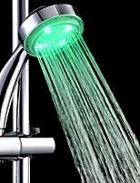 Temperature Control  Led Shower Head Sprinkler Waterfall Handheld