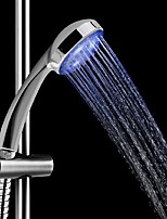 Blue Led Shower Head Sprinkler Waterfall Handheld