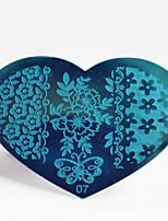 BlueZOO Metal 07 Nail Art Stamping