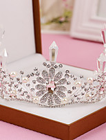 Women's Pearl / Crystal / Alloy Headpiece-Wedding / Special Occasion Tiaras 1 Piece