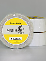 White Double Sided Medical Tape Use Strong Adhesives For Lace Wig/Reapplication Tape Hair Extensions/PU Skin Weft Hair