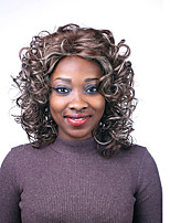 African American wig Sexy dark Multi-color short Curly Synthetic wig