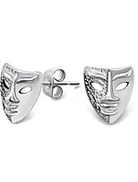 Style Restoring Ancient Ways Mask Earrings Earrings (Single)