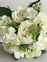 Buquês(Branco,Cetim) - dePeônias