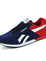 Men's Shoes Casual Fleece Fashion Sneakers Blue / Red / Black and White