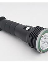 Lanternas LED LED 2 Modo 4800 Lumens Prova-de-Água 18650.0 / 18355 / 26650Campismo / Escursão / Espeleologismo / Uso Diário / Mergulho /