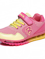 Girls' and Boy Shoes Casual Comfort Tulle Fashion Sneakers Yellow / Green / Pink