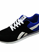 Men's Shoes Casual Tulle Fashion Sneakers Blue / Gray