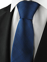 KissTies Men's Striped Tie Suits Necktie Formal For Wedding Party Holiday Business With Gift Box (2 Colors Available)