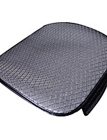Universal Fit for Car, Truck, Suv, or Van Flat Cloth Car Seat Cushion Front Seat Cushion (1 Pieces Set) Gray