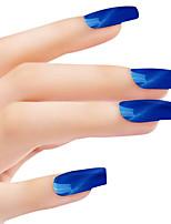SIOUX Cat Eye Blue Glitters 6ML Nail Glue Nail Polish for 2 Years