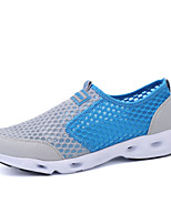 Men's Shoes Wedding / Office & Career / Party & Evening / Athletic / Casual Fabric Fashion Sneakers Black / Blue / Gray