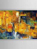 Hand Painted Abstract Oil Painting Thunder with Stretched Frame 7 Wall Arts®