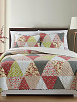 3PC Quilt Sets Full Cotton Euro Pattern 86