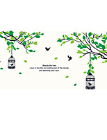 Botanique / Mode / Forme Stickers muraux Stickers avion,pvc 60*90cm