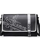 -Andere-Schwarz-Leinwand-Tasche / Mehre Accessoires