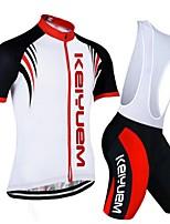 KEIYUEM Radsport Kleidungs-Sets/Anzüge Unisex FahhradAtmungsaktiv / Rasche Trocknung / Staubdicht / tragbar / Videokompression / Tasche