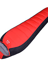 Sleeping Bag Mummy Bag Single 10°C Duck Down 1000g 210X70 Camping Breathability / Cold Weather Yunyi