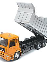 Children's toy car truck 1:48 back of alloy car model toy excavators 1:55 garbage truck (9PCS)
