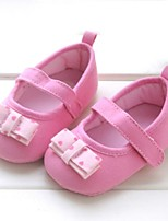 Baby Shoes Outdoor Cotton Flats Pink