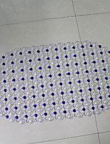Traditional Style Pvc Material Non-Slip Bath Mats W16
