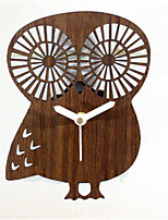 Forest Animal Cute Owl Style Wall Clock