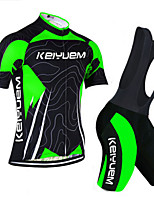 KEIYUEM®Others Short Sleeve Spring / Summer / Mountain Bike Cycling Clothing Bib Suits for Men/Women/ Breathable#28