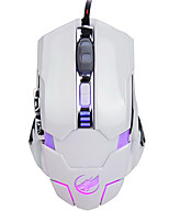 War Wolf 6D Wired Gaming Mouse 3200dpi Backlit Breathing Light for LOL/CF/DOTA